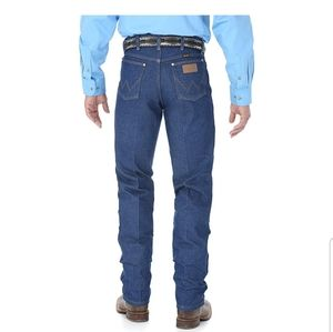 WRANGLER Cowboy Cut Rigid Indigo 13MWZ Jeans 31x34